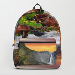 Wells Fargo Stagecoach Backpack