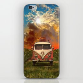 summer landscape iPhone Skin