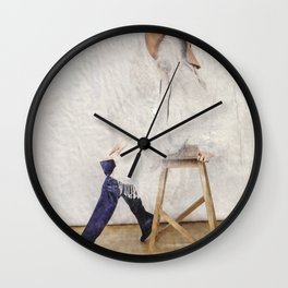 headless model No.01 Wall Clock