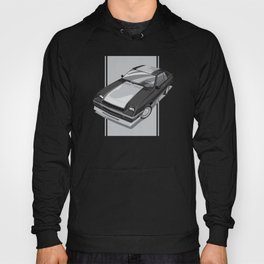 1983 L-Body Charger Black Hoody