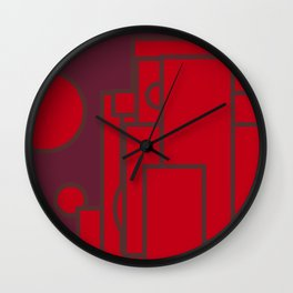 Geometric shape pattern nr 5563960 Wall Clock