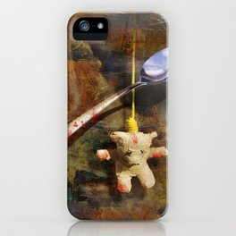 The Care and Feeding of Teddy iPhone Case