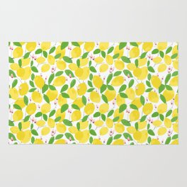 california lemons Rug