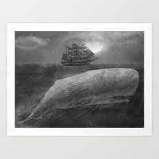 Far From Nantucket  Art Print
