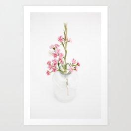 Wax Flower Art Print