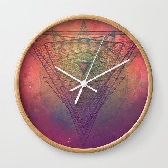 pyrymyd xrayyll Wall Clock