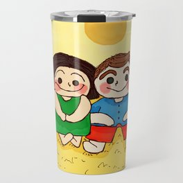 Yellow Mellow Travel Mug