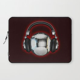 Headphone disco ball Laptop Sleeve