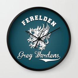 Dragon Age - Ferelden Grey Wardens Wall Clock