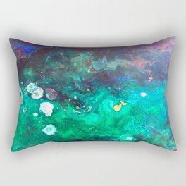 Green Malachite Rectangular Pillow