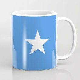 Somalian national flag - Authentic color and scale (high quality file) Coffee Mug