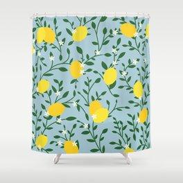 Meyer Lemons Shower Curtain