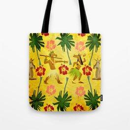 Tropical Island Unicorn Tote Bag