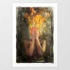 Perish the Thought Art Print