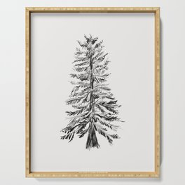 Cedar Tree Serving Tray