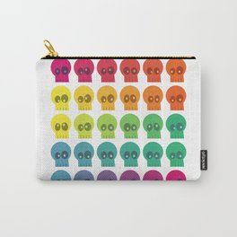 Rainbow Skullz Carry-All Pouch