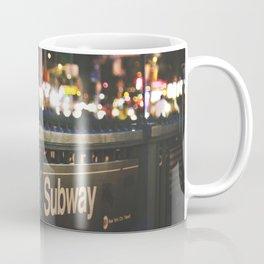 NY Subway Coffee Mug