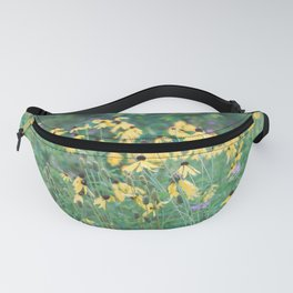 In a tangle - wildflower nature photography Fanny Pack