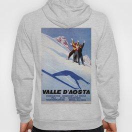 Aosta Valley winter sports Hoody