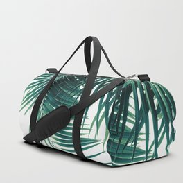 Palm Leaves Green Vibes #4 #tropical #decor #art #society6 Duffle Bag