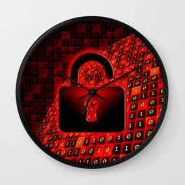 Unprotected data Wall Clock