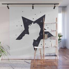 Star Man (Silhouette) Wall Mural