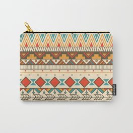Aztec pattern 03 Carry-All Pouch