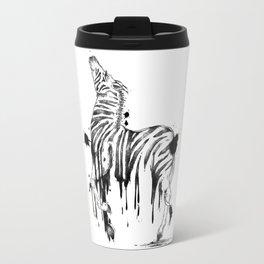 Dripping Zebra Travel Mug