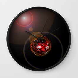 Magical Light and Energy 3 Wall Clock