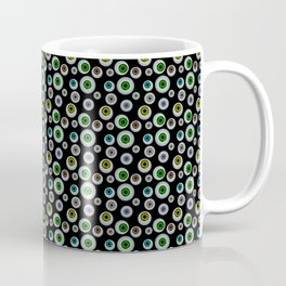 I Only Have Eyes for You (on Designer Black Background)  Coffee Mug