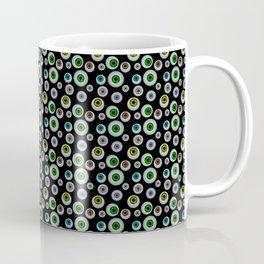 I Only Have Eyes for You (on Designer Black Background)  Coffee Mug