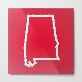 Alabama: United Chains of America Metal Print