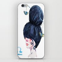 libra iPhone & iPod Skins featuring Libra by Aloke Design