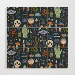 Curiosities Wood Wall Art