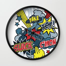 super climb Wall Clock
