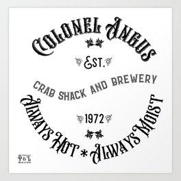Colonel Angus Art Print