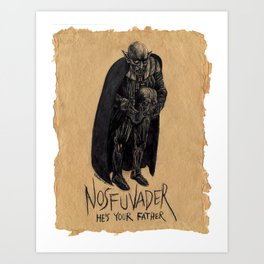 """Nosfuvader"" Art Print"