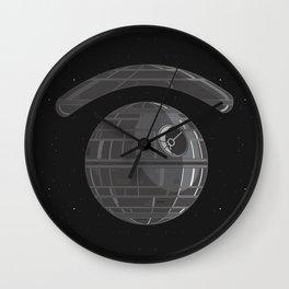 death eye star Wall Clock