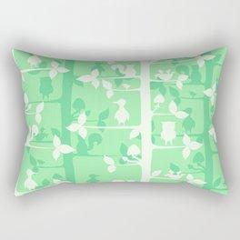 Forest birds and animals. Rectangular Pillow