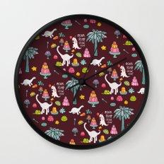Jellosaurus Rex: Jello Dino Party Wall Clock