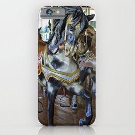 Prancing Ponies iPhone Case