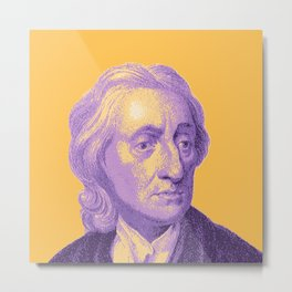 John Locke Metal Print