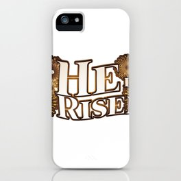 He is Risen Easter Christian Gift iPhone Case