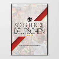 germany Canvas Prints featuring Germany by liamhohoho