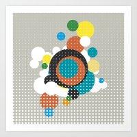 bubbles Art Prints featuring bubbles by Heinz Aimer