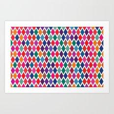 Party Colors Art Print