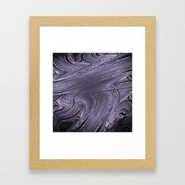 Liquid Metal Framed Art Print