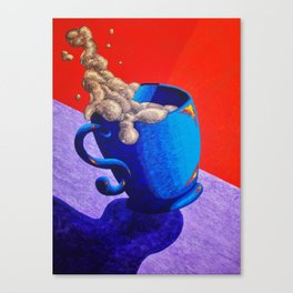 The Morning Cup of Coffee Canvas Print