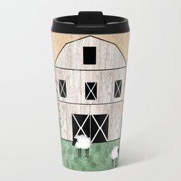 Primitive Barn Travel Mug