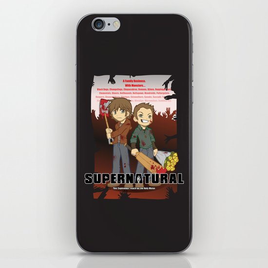 Supernatural - Goin to the Winchesters iPhone & iPod Skin